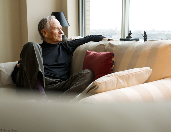 Charles Reinhart, photographed in his home. © Tony Gale
